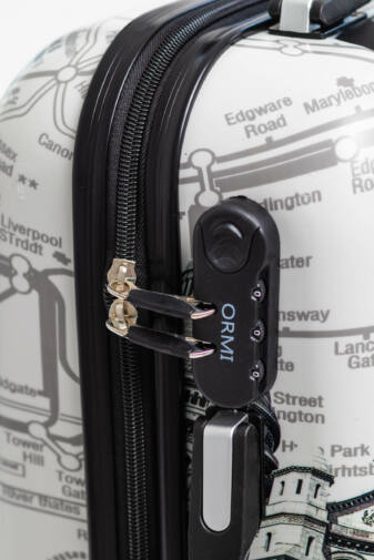 Párizs Mintás Wizzair, Ryanair Méretű Kabinbőrönd(53*36*20cm)