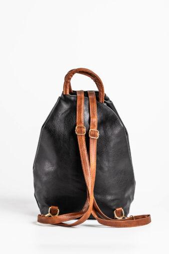 Fekete Háromszög alakú hátizsák
