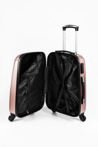 Arany Kemény Nagy Méretű Bőrönd (4 kerekű) L