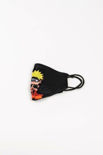 Naruto-s 2 Rétegű Trendi Textil Szájmaszk