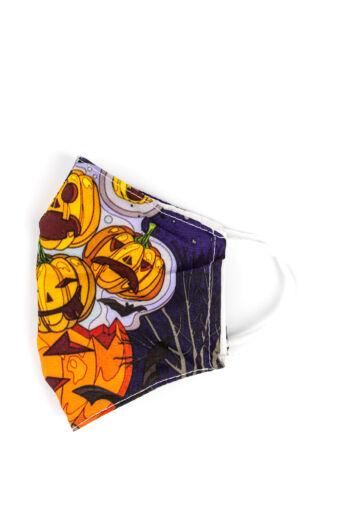 Halloween-i Tökös 2 Rétegű Trendi Textil Szájmaszk