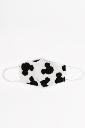 Mickey Egeres 2 Rétegű Trendi Textil Gyerek Szájmaszk