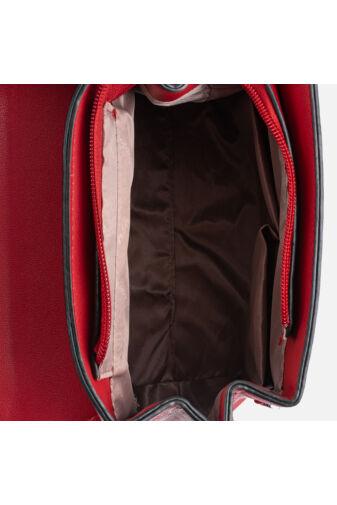 Púder színű műbőr Silvia Rosa kézitáska és hátizsák egyben