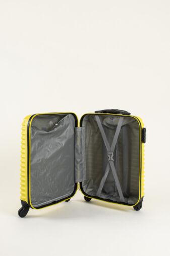 Mentazöld Wizz air Ryanair Méretű Kemény Kabinbőrönd (55x38x20cm)