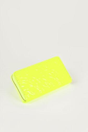 R&J Neon Sárga Műbőr Női Pénztárca