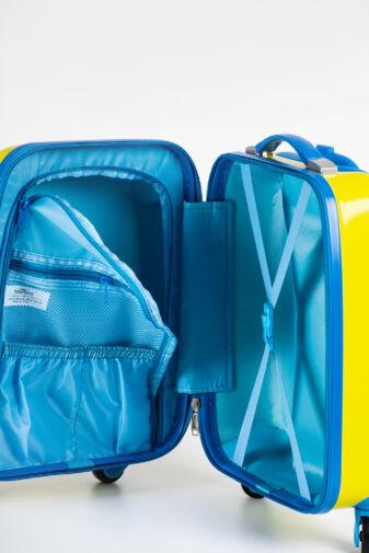 BONTOUR Gurulós Gyerek Bőrönd Mosolygó Ororszlán Mintával