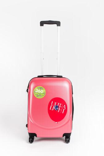 Besty Pink Kemény Kabin Bőrőnd 53*40*20CM   (4 Kerekű)