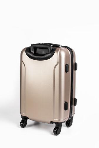 Pezsgő Színű Kemény Kabinbőrönd, Wizz-Air Kézipoggyász