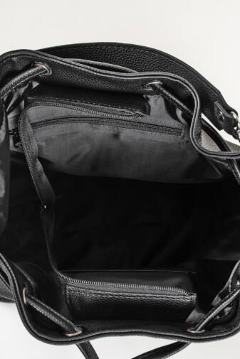 Fekete Fehér Feliratú Prestige Rostbőr Válltáska