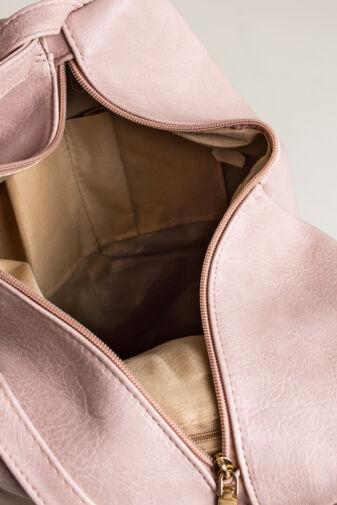 Világos Rózsaszín Háromszög Alakú Hátizsák