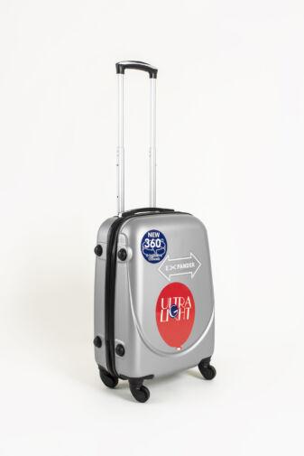 Szürke Kemény Kabinbőrönd, Wizz-Air Kézipoggyász