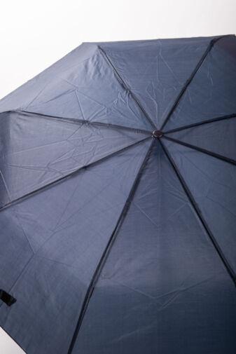 Sötétkék Összecsukható Esernyő, 98 cm Átmérővel