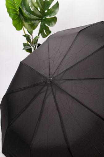 Fekete Összecsukható Esernyő, 100 cm Átmérővel
