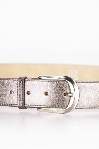 Prestige Bronz Színű Valódi Bőr Öv, 100 cm