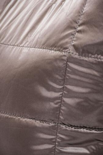 Szürkésbarna Női PVC Anyagú Vízhatlan Sportos Oldaltáska És Kézitáska