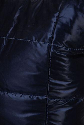 Sötétkék Női PVC Anyagú Vízhatlan Sportos Oldaltáska És Kézitáska