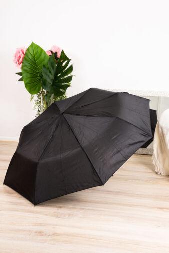 Fekete Automata Esernyő, 110 cm Átmérővel
