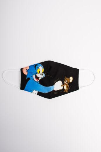 Tom & Jerry 2 Rétegű Trendi Textil Gyerek Szájmaszk