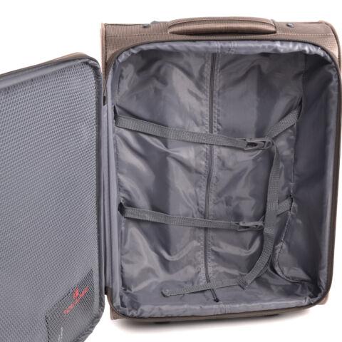 Touareg Fekete Nagy Méretű Bőrönd