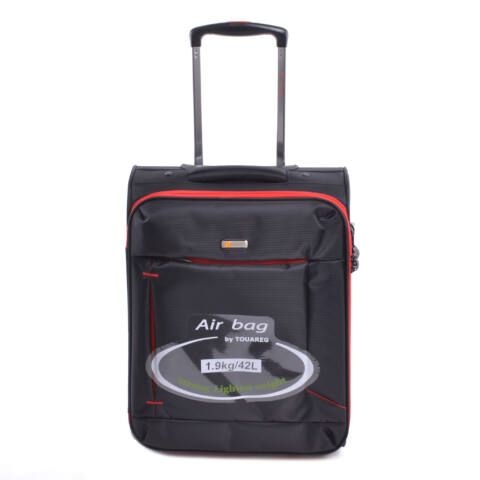 Touareg Kabinbőrönd Fekete-Piros