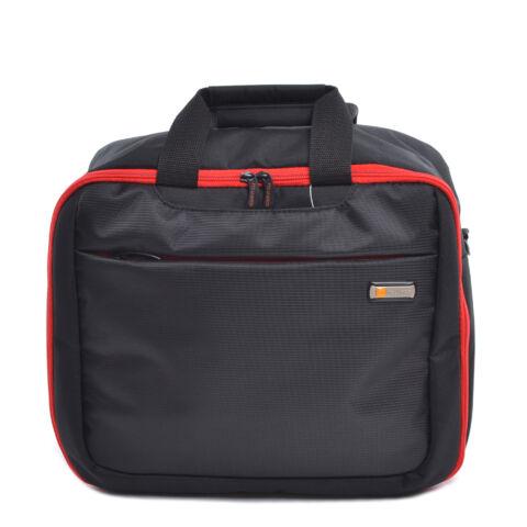 Touareg Bőrönd Szett Fekete-Piros