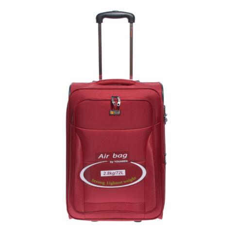 Air6201 Bordó Touareg Közepes Méretű Bőrönd