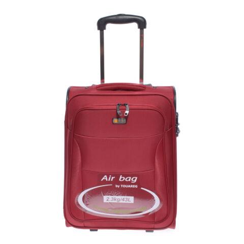 Air6201 Bordó Touareg Kabin Méretű Bőrönd