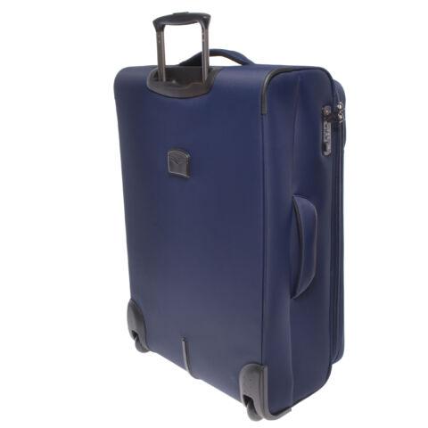 Touareg Prémium Nagy Méretű Bőrönd Kék