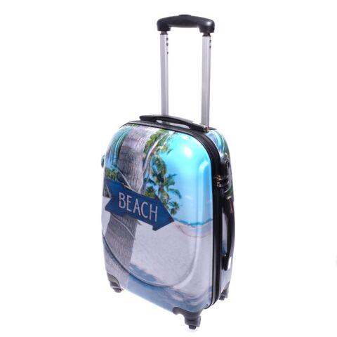 Ormi Strand Mintás Kemény Kabinbőrönd(56*40*23cm)