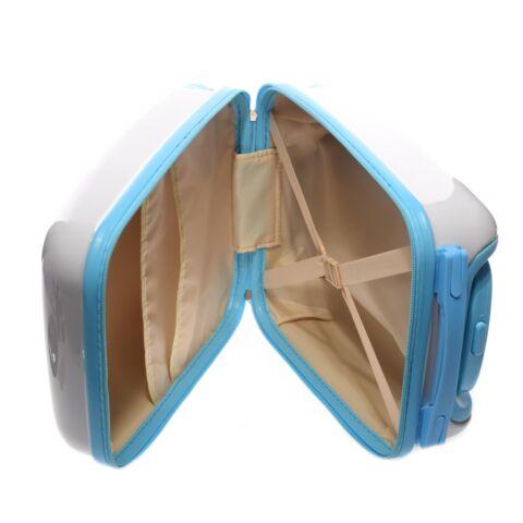 Mackós Fehér Műanyag Gyerekbőrönd