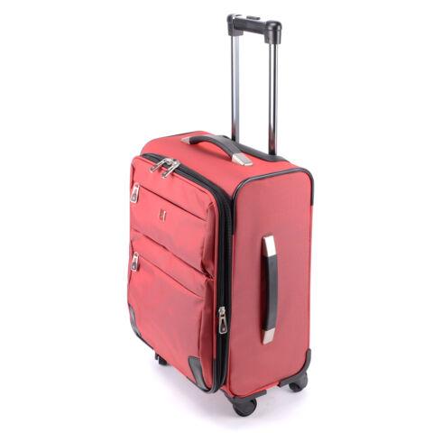 Prémium Swisswin Bordó Nagy Méretű Gurulós Bőrönd(4 Kerekű)