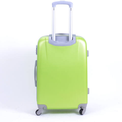 Kemény Mini Bőrőnd Zöld (4 Kerekű)