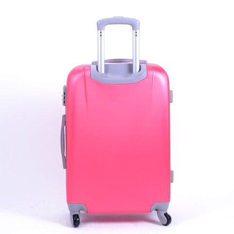 Kemény Mini Bőrőnd Pink (4 Kerekű)