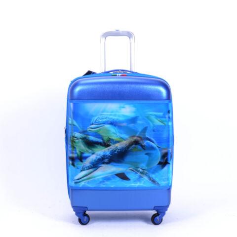 Besty Delfines  Wizzair méretű Kabinbőrőnd Kék (55*39*22cm)
