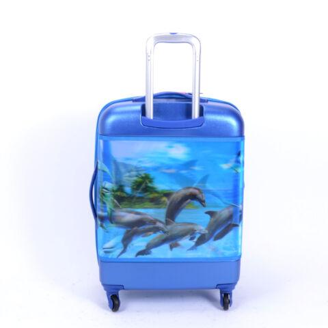 Besty Delfines Kemény Nagy Bőrönd (4 Kerekű)