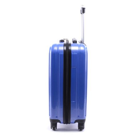 Leonardo Da Vinci Go! Kemény PVC Bőrőnd Szett Kék (3 Darabos)