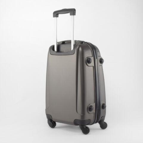 Besty Szürke Extra Könnyű Kemény Kabinbőrönd (55×40×23 cm)