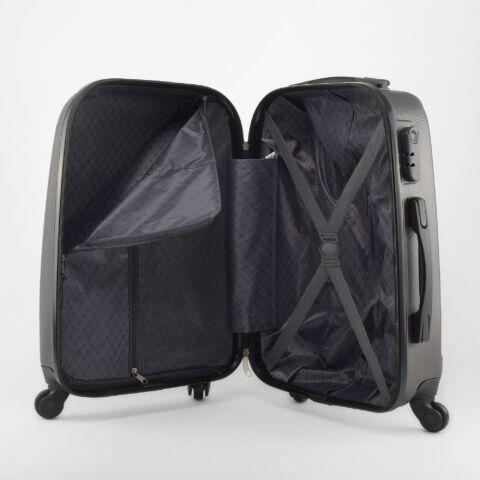 Besty Szürke Extra Könnyű Kemény Kabinbőrönd(55*36*20cm)
