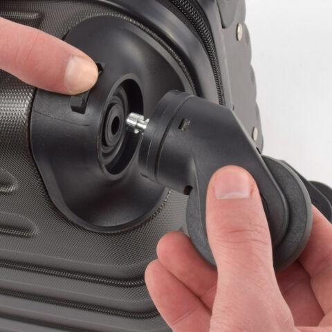 LDV Ezüst Wizzair ingyenes méretű kabinbőrönd (40x30x20 cm)
