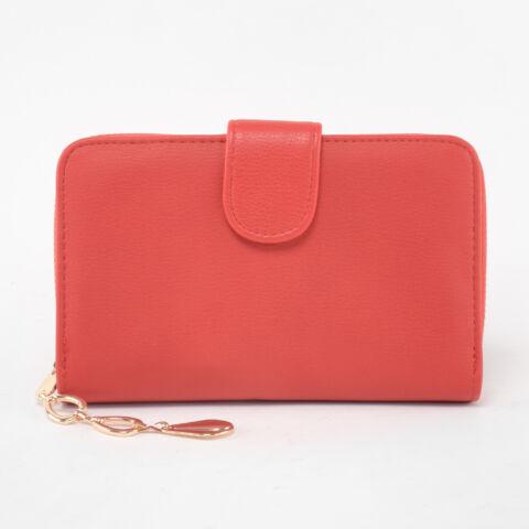 Női piros Műbőr pénztárca