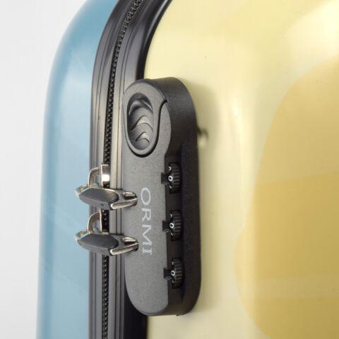 Ormi Kék Pillangós Kemény Közepes Bőrönd