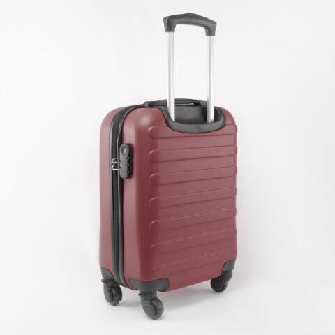 Bordó Kemény falú Négy kerekű Könnyű Kabinbőrönd