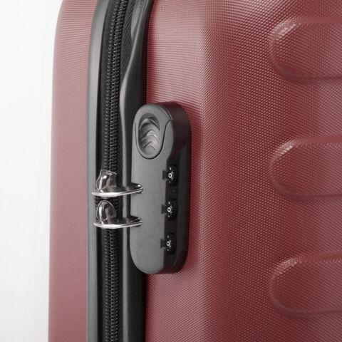 Barna Kemény falú Négy kerekű Könnyű Nagy méretű bőrönd
