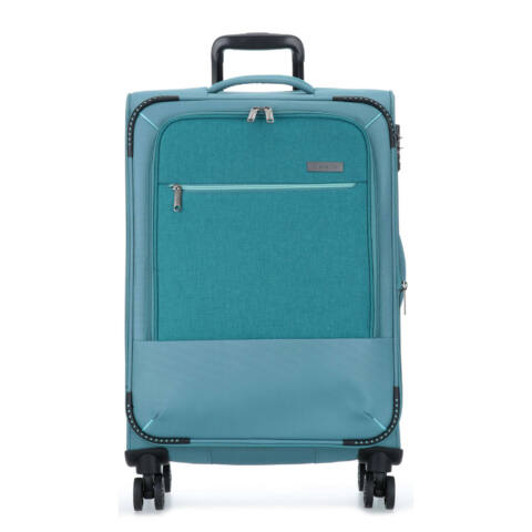 Travelite ARONA Bővithető Nagy Bőrönd Világoskék (4 kerekű) 77x47x30/34 cm