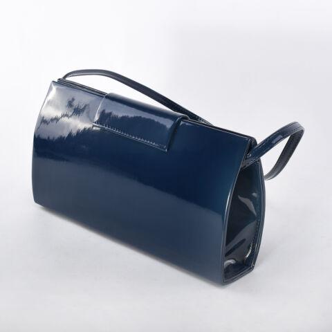 Prestige Kék Női Rostbőr Válltáska