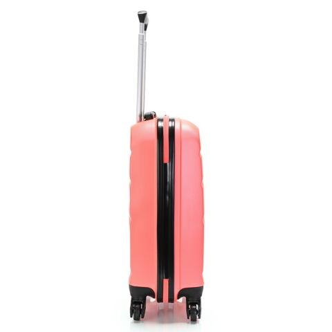 Bontour Narancssárga Kemény Wizz Air, Ryanair Méretű ABS Kabinbőrönd (55x40x20 cm)