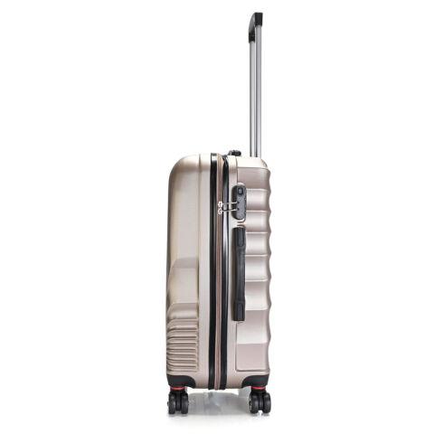 Bontour Arany Színű Kemény ABS Nagy Bőrönd