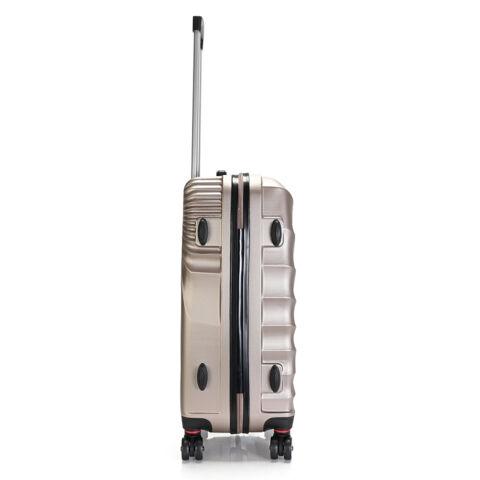 Bontour Arany Színű Kemény ABS Három Darabos Bőrönd Szett