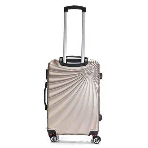 Bontour Arany Színű Kemény ABS Közepes Bőrönd