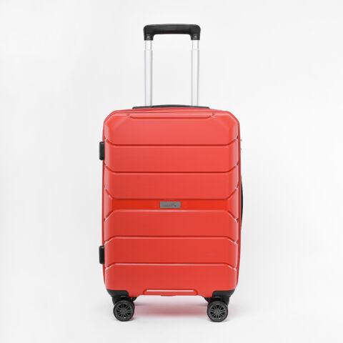 Besty Kis Méretű Piros Polipropilén Bőrönd (57x38x23cm)